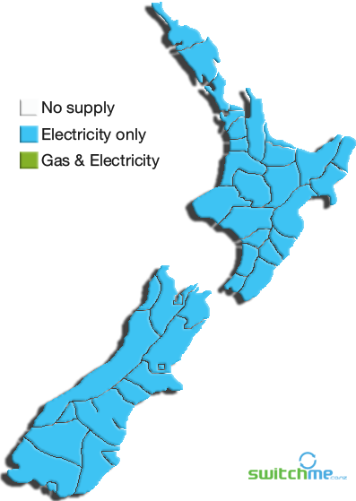 Meridian Energy Map